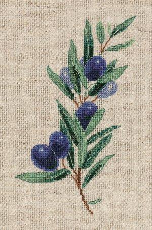 Набор для вышивания Веточка оливы 12*17,5см
