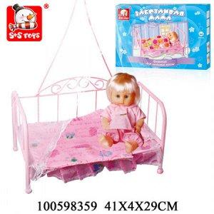 Кровать для куклы 100598359 EJ7263R SR81208-2