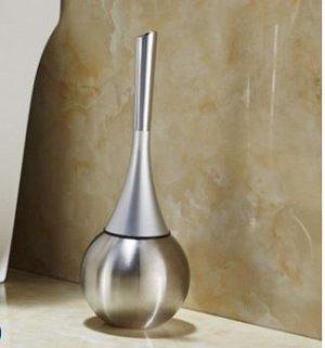 Ершик для унитаза. цв серебро