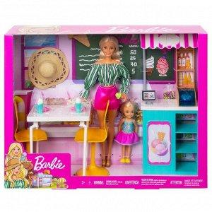 Игровой набор Mattel Barbie Магазин кафе мороженое с куклой Барби и Челси1
