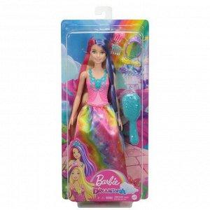 Кукла Mattel Barbie Игра с волосами принцесса с длинными волосами9