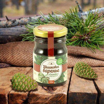 • Сибирские органические продукты • Новые супердобавки•    — Шишковое варенье и продукты  из хвои — Сладкая консервация