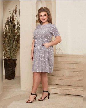 Платье Ткань французский рубчик