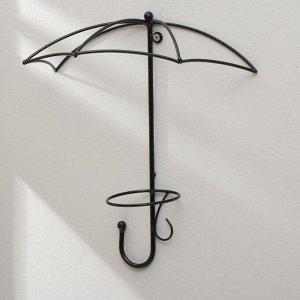 Подвес для кашпо настенный «Зонт», d = 16 см