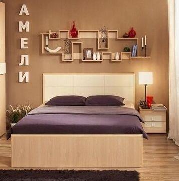 Классический и современный стиль. Мебель для каждого! — Спальня Амели (Дуб Отбеленный - Венге) — Мебель