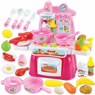 ВЕЛОСИПЕДЫ🌠ИГРУШКИ❋Большой ассортимент❋Быстрая доставка  — Наборы повара, кухня, посуда — Игровые наборы
