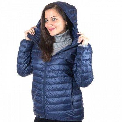 Ультралегкие куртки — Женские ультралёгкие куртки с КАПЮШОНОМ