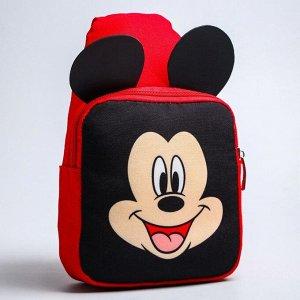 Рюкзак детский через плечо, Микки Маус