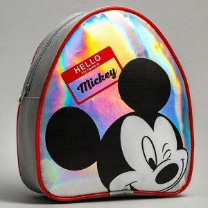 """Рюкзак детский через плечо """"Hello Mickey"""" Микки Маус"""