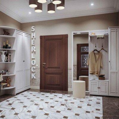 !Глазов мебель - одна из лучших в России. Заказывайте — Прихожая Sherlock (Ясень Анкор светлый) — Гарнитуры