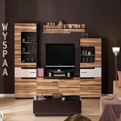 Классический и современный стиль. Мебель для каждого! — Гостиная WYSPAA (Дуб табачный Craft) — Гарнитуры