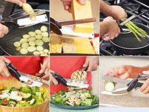 Нож и ножницы 2в1