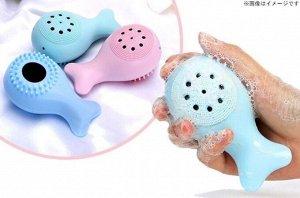 Двухсторонняя силиконовая многофункциональная отшелушивающая массажная щетка для мытья лица