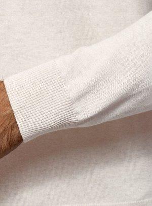 Джемпер хлопковый с длинным рукавом