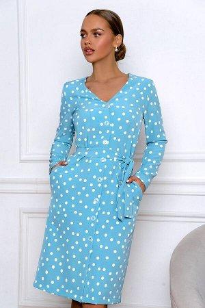 Платье Размер: 42 / 44 / 46 / 48 красивое платье из текстильного платье. платье имеет свободный крой карманы. цвет платье в реальности более к бирюзовому.