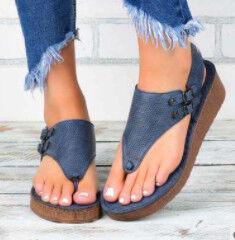 -50% 🔥 На Удобную Летнюю Обувь до 43р!!!   — -50% на Босоножки — На танкетке