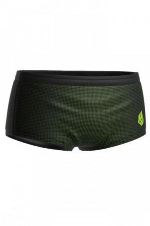 тормозные шорты (черный/зеленый)