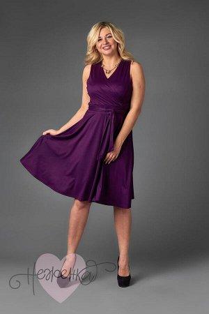 Платье П 706 (баклажановый)
