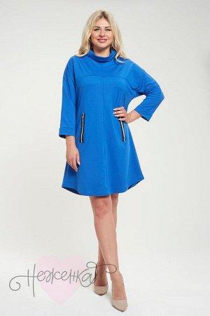Платье П 463 (васильковый)
