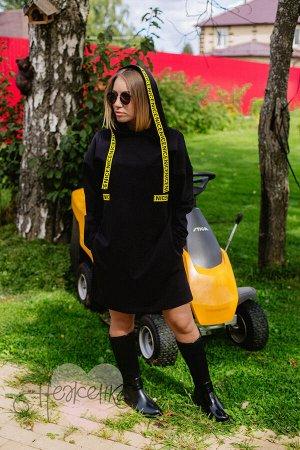 Платье П 780 (черный)