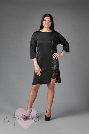 Платье П 641 (черный)