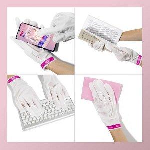 NEW ! Бархатные Ручки маска-перчатки для рук питание