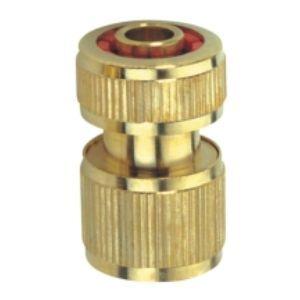 Коннектор латунь д/шланга 1/2 с автост. LYM 5810C