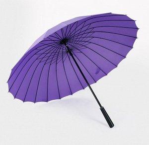Зонт трость. Цвет фиолетовый