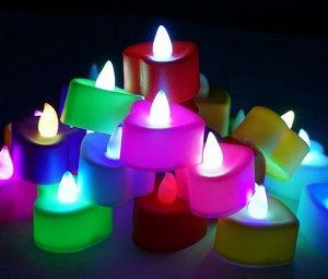 """Светодиодная свеча """"сердце"""""""