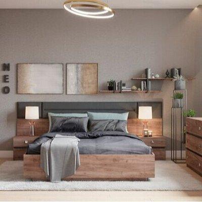 Классический и современный стиль. Мебель для каждого! — Спальня  NEO (Дуб табачный Craft) — Мебель