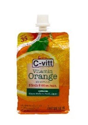 "Jele C-Vitt  ""Orange""                    Желе витаминизированное со вкусом апельсина"