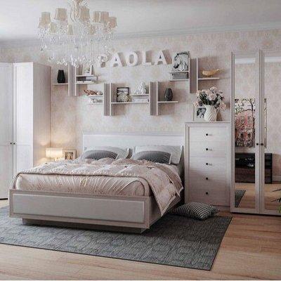 Классический и современный стиль. Мебель для каждого! — Спальня  Paola (Анкор светлый - Анкор светлый патина) — Мебель