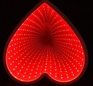 """Светодиодный светильник 3D """"Сердце"""""""