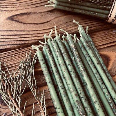 Эзотерическая закупка, большой выбор свечей и карт таро — Свечи часовые с травами — Свечи и подсвечники