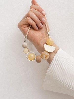 Ожерелье с декоративными элементами L057/burm