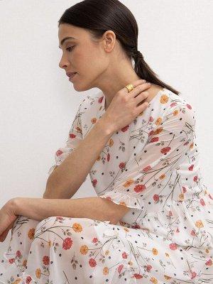 Шифоновое платье PL1147/glucinia