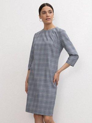 Платье в клетку PL1197/olen