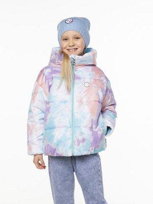 101006/3 (бирюзовый) Куртка для девочки