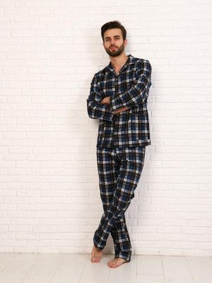 Пижама мужская,модель203,фланель (Мишель, вид 3)