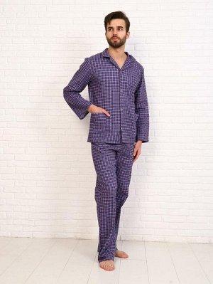 Пижама мужская,модель203,фланель (Виши, вид 4)