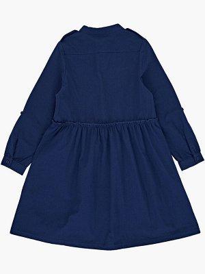 Платье (122-146см) UD 7449(1)св.синий