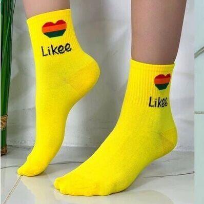 #Стильная одежда и обувь по доступным ценамღ🧡 — Яркие носочки — Носки