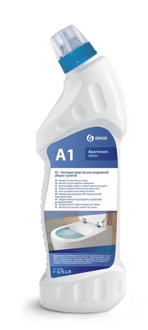 А1 Моющее средство для ежедневной уборки туалетов 750 мл