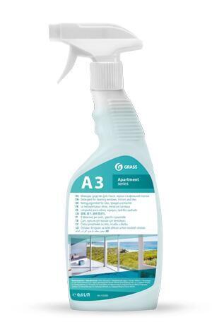 А3 Моющее средство для стекол, зеркал и кафельной плитки 600 мл