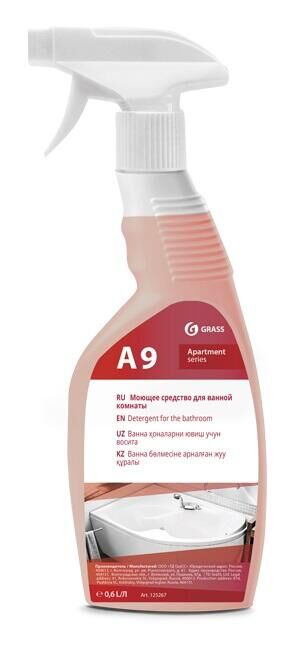 А9 Моющее средство для уборки ванных комнат 600 мл