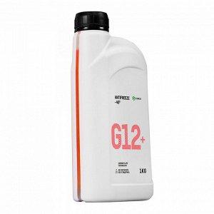 Жидкость охлаждающая низкозамерзающая Антифриз G12+ - 40*C 1кг