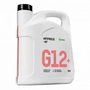 Жидкость охлаждающая низкозамерзающая Антифриз G12+ -40*С 5 кг