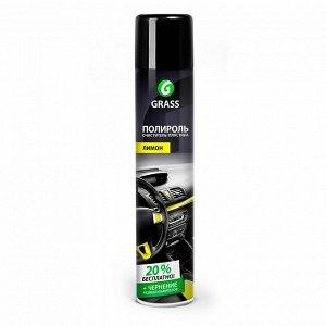 Полироль-очиститель пластика Лимон ГРАСС 750мл