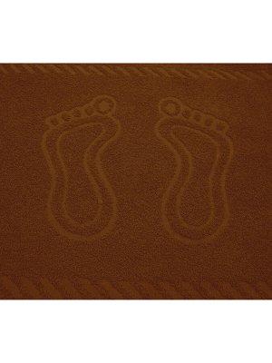 "Полотенце махровое ""Ножки Терракот"""