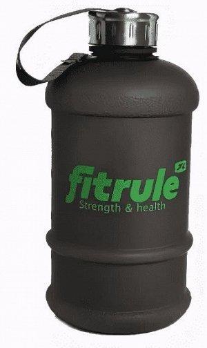 Бутылка FitRule (прорезиненная) - 2,2 л